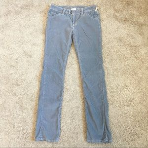 Twisted Heart Gray Corduroy Straight Leg Pants 29